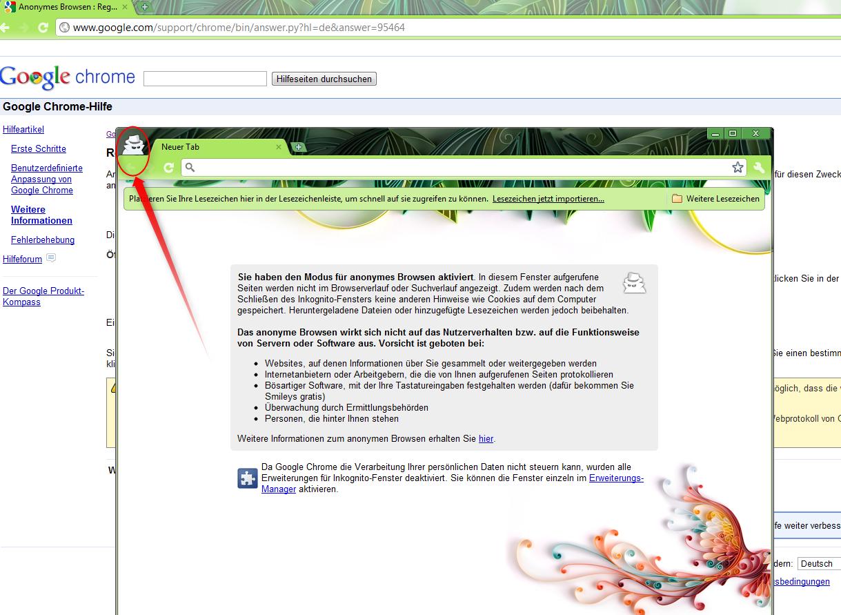 Supportnet Tipp: Die neuen Browser: Google Chrome 6 – Design, ...