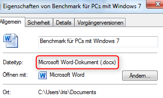 02 Quicktipp Vollversionen von Microsoft Office Compatibility Pack Word Dokument Eigenschaften 470