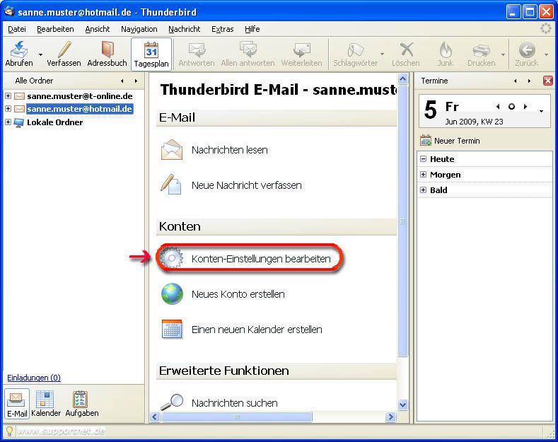 hotmail email abrufen