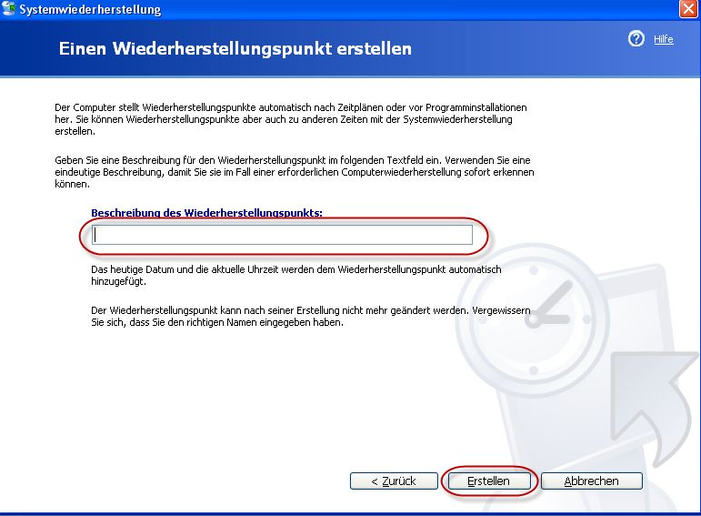 system cd erstellen xp