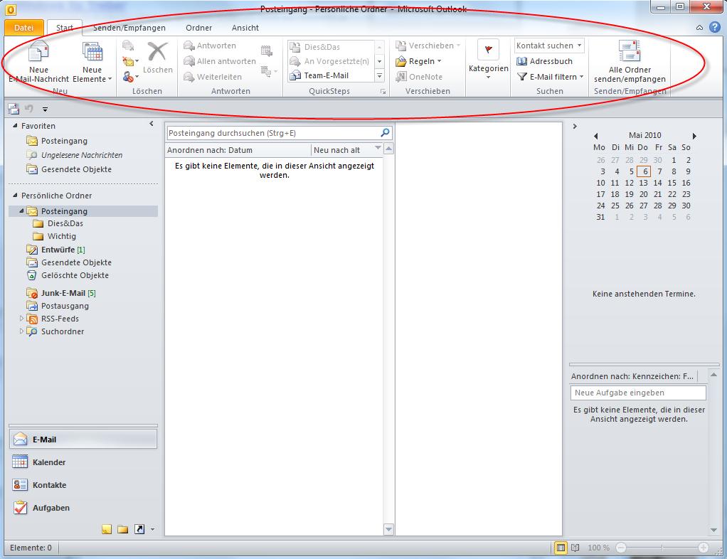 02-Microsoft-Office-2010-Office2010-Outlook-Outlook2010-Menueband-Menue-Band-RibbonBar-Ribbon-Bar-Start-markiert_470.png