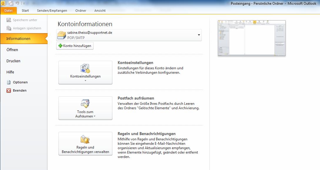 03-Microsoft-Office-2010-Office2010-Outlook-Outlook2010-Menueband-Menue-Band-RibbonBar-Ribbon-Bar-Start-Kontoinformationen_470.png
