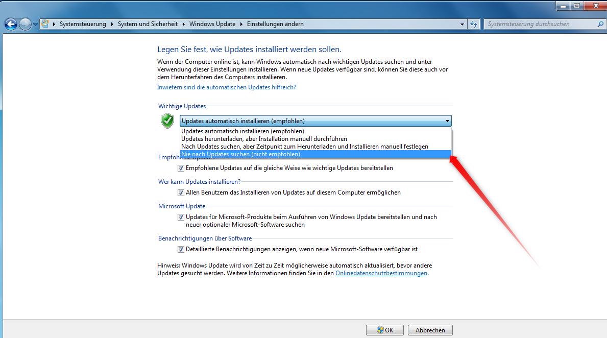 Das-neue-Windows-7-Update-Kundenschutz-oder-Eigeninteresse-Screenshot3-Nie-nach-Updates-suchen-470.png