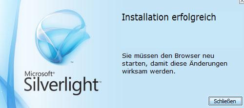 06-Computer-Leistungsbewertung-unter-Windows7-Silverlight-Installation-erfolgreich-470.png