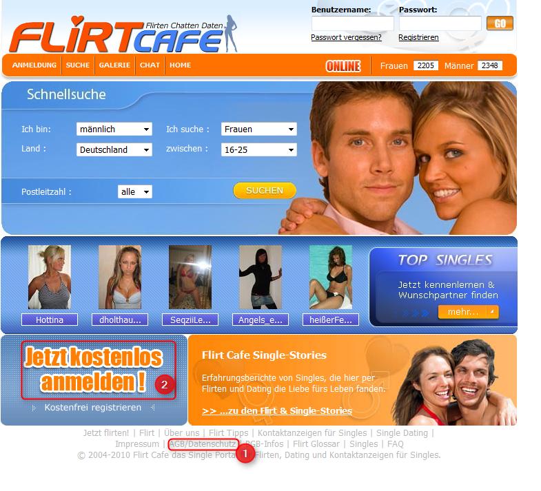 Online dating im Vergleich
