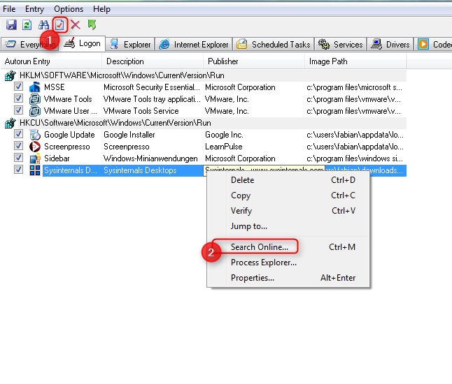 02-kostenlose-Vollversionen-von-Microsoft-Autoruns-Screenshot-Informationen-zu-einem-Programm-suchen-470.png