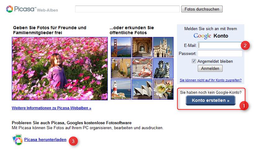 01-Picasa-Webalben-anlegen-Google-Konto-erstellen-einloggen-und-Software-Picasa-herunterladen-470.png