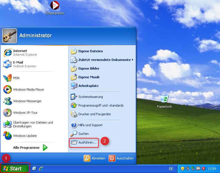 01-Windows-XP-IP-Adresse-Ausfuehren-oeffnen-470.png