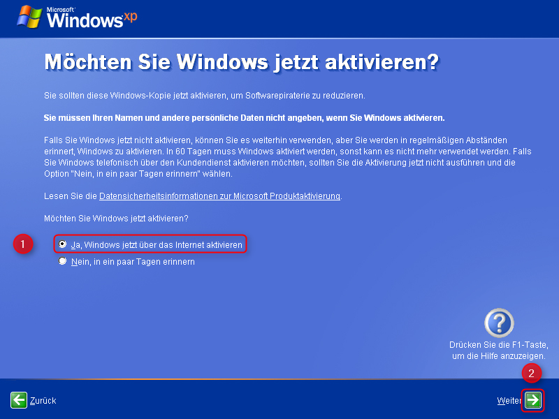 19-Windows-XP-Installation-aktiveren-470.png