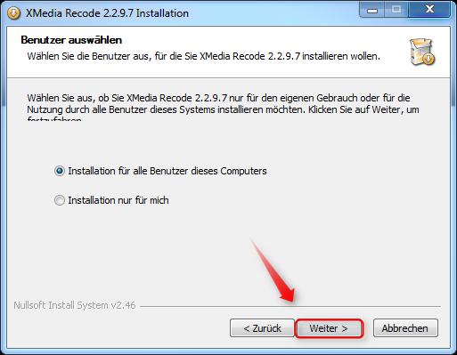 04-XMedia-Recode-Setup-Benutzer-auswaehlen-470.png