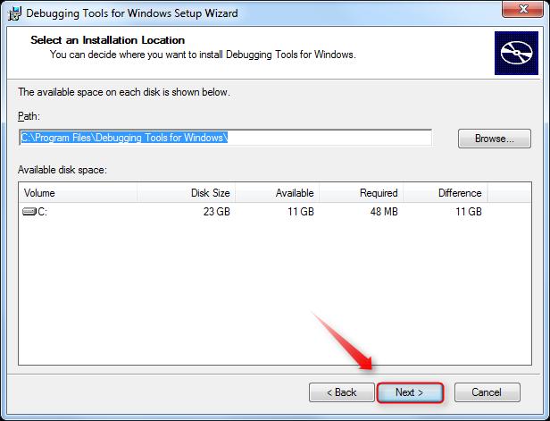 05-Windows-Debugger-Benutzerdefinierte-Installationspfad-anpassen-470.png