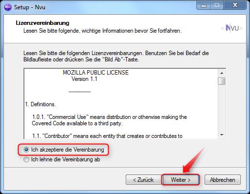 02-NVU-WYSIWYG-Editor-Lizenzvereinbarung-akzeptieren-470.png
