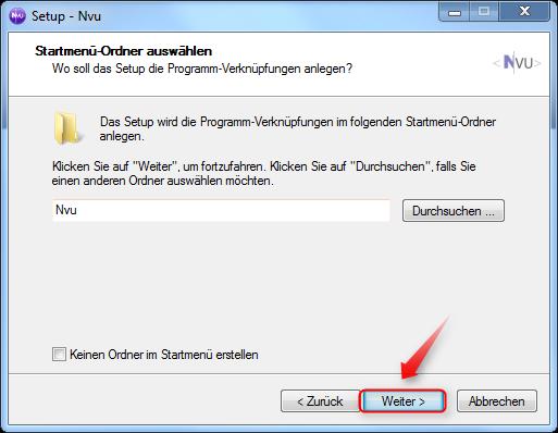 04-NVU-WYSIWYG-Editor-Startmenue-Verknuepfung-470.png