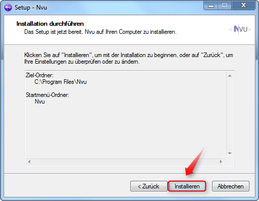06-NVU-WYSIWYG-Editor-Installation-starten-470.png
