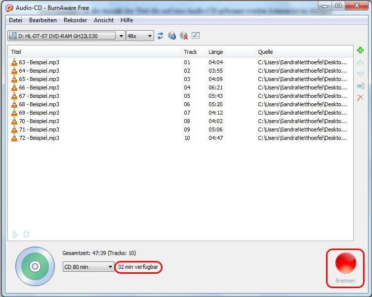 04-BurnAware-Audio-CD-Brennen-470.jpg
