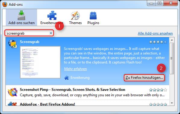 02-Screengrab-Firefox-Addon-AddOn-Manager-Screengrab-hinzufuegen-470.png