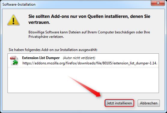 03-AddOn-Manager-Extension-List-Dumper-installieren-470.png