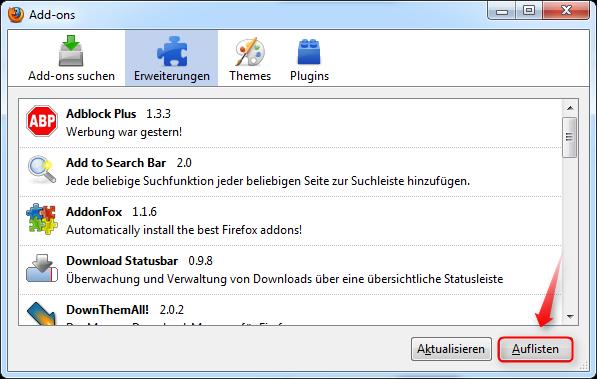06-AddOn-Manager-Extension-List-Dumper-Auflisten-470.png