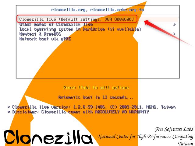 01-Clonezilla-Festplatte-Klonen-von-CD-booten-470.png