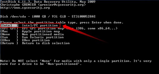 03-Testdisk-Partition-wiederherstellen-Partitionstabellentyp-auswaehlen-470.png?nocache=1302253805946