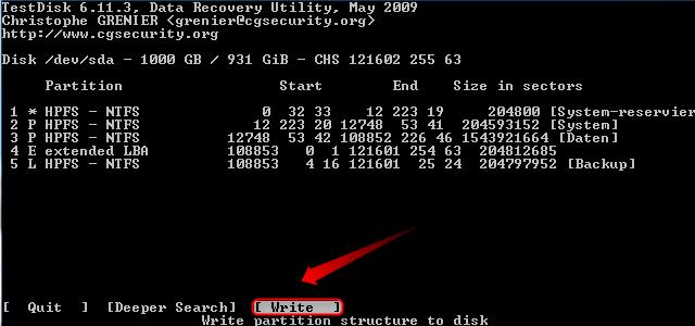 07-Testdisk-Partition-wiederherstellen-neue-Partitionstabelle-schreiben-470.png?nocache=1302253973910