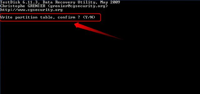08-Testdisk-Partition-wiederherstellen-neue-Partitionstabelle-bestaetigen-470.png?nocache=1302253994920