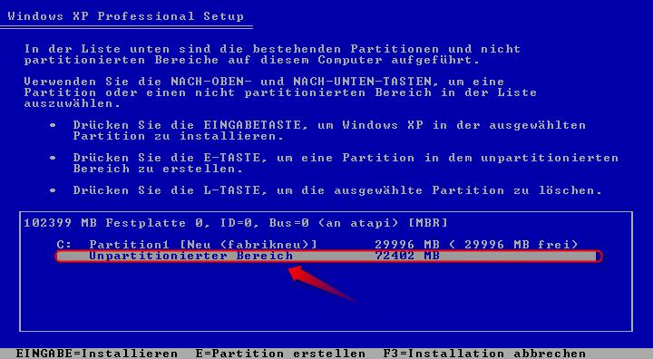 05-Windows-XP-Installation-Festplatten-zweite-Partition-erstellen-470.png?nocache=1302271129936