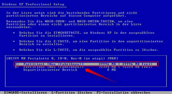 07-Windows-XP-Installation-Festplatte-auswaehlen-zum-Installieren-470.png?nocache=1302271178821