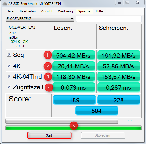 SSD Testen mit AS SSD Benchmark – Supportnet