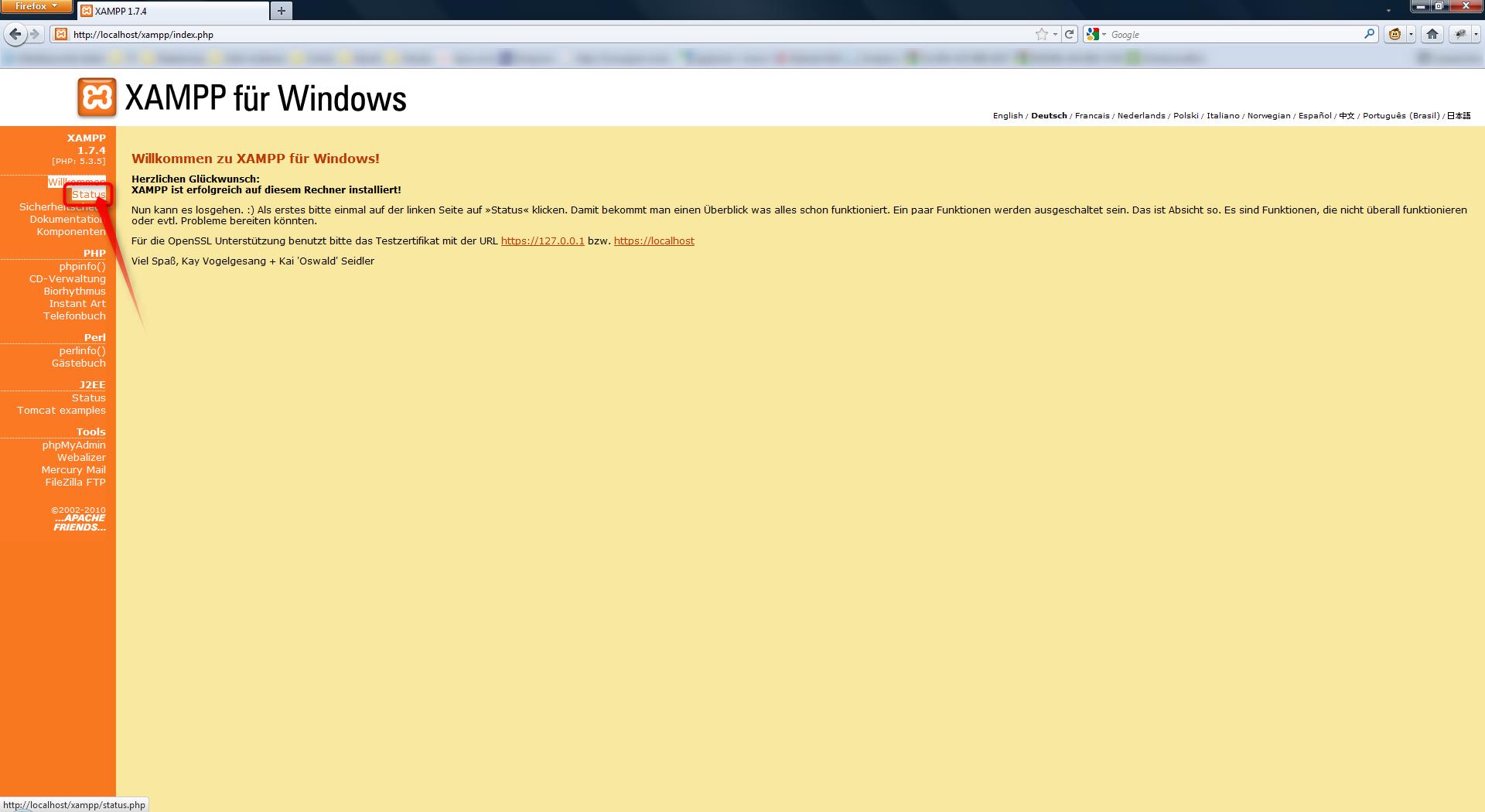 05-php-xampp-installieren-stauts-anklicken-470.png?nocache=1307454084596
