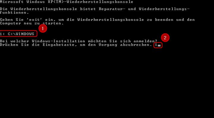 04-Windows-XP-Bootsektor-reparieren-Wiederherstellungskonsole-Windows-Version-auswaehlen-470.png?nocache=1308050879518