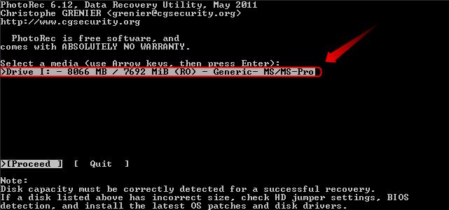 02-Geloeschte-Bilder-wiederherstellen-Photorec-Datentraeger-auswaehlen-470.png?nocache=1308568113916