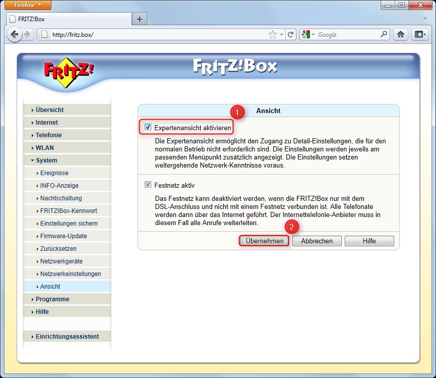 04-Fritzbox-Port-Weiterleitung-Einstellungen-System-Ansicht-Expertenansicht-oeffnen-470.png?nocache=1311056715570
