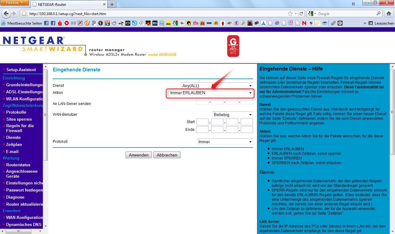 06-Netgear-Portforwarding-Menue-Regeln-fuer-die-Firewall-Eingehenden-Dienst-hinzufuegen-470.png?nocache=1311169617448