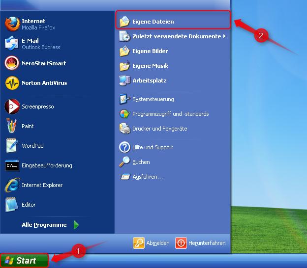 01-Eigene-Dateien-unter-Windows-XP-verschieben-Startmenu__-o__ffnen-470.png?nocache=1311844105656