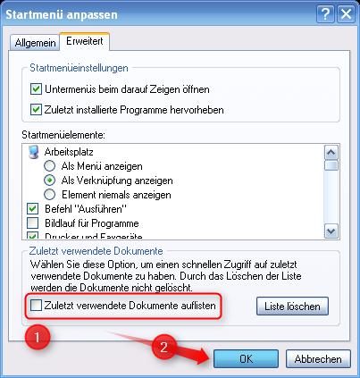 06-Zuletzt-verwendete-_Dokumente-lo__schen-und_deaktivieren-Startmenu__-Anpassen-Zuletzt-verwendete-Dokumente-auflisten-deaktivieren-470.png?nocache=1312304203530