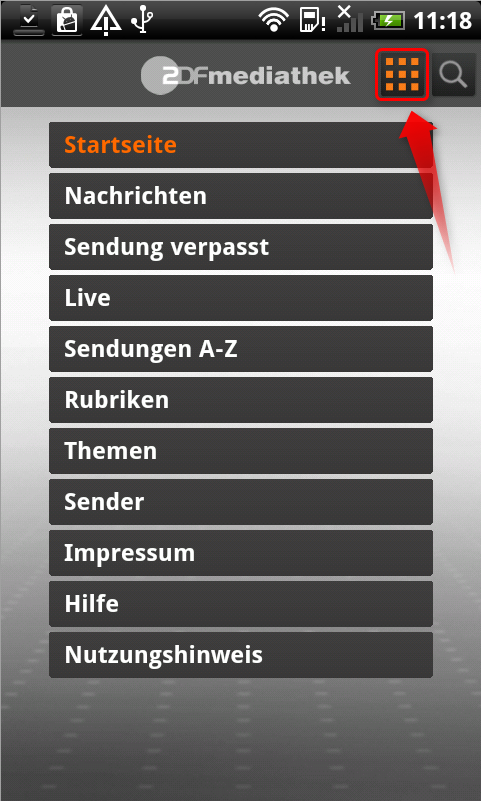 Mediathek App