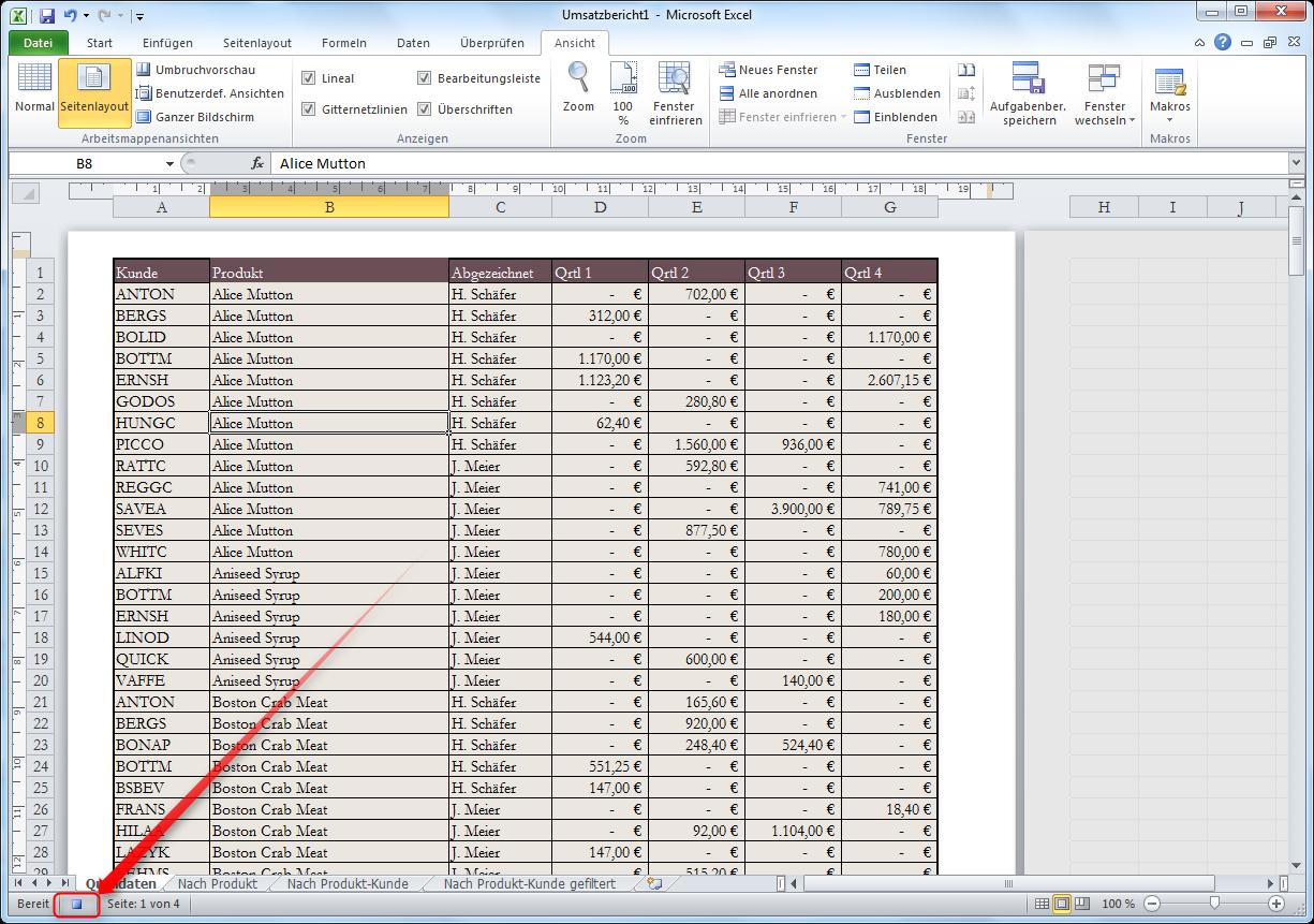 Excel Automatisieren
