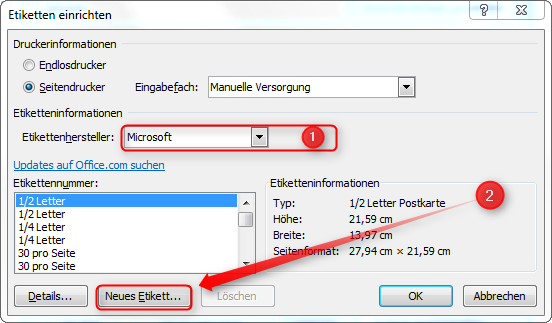 Visitenkarten In Word Erstellen Supportnet
