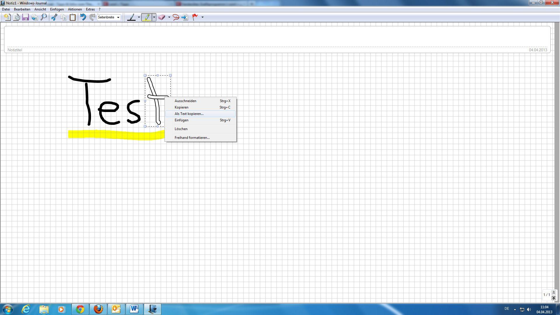 Verstecktes Zeichenprogramm unter Windows 7 und 8 – Mini Tipp ...