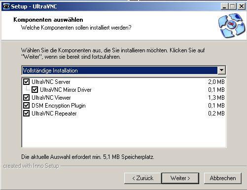 Ultravnc Repeater Einrichten
