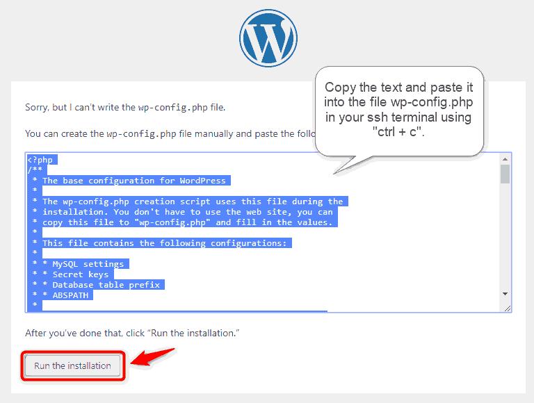 Install WordPress, Nginx, PHP7 and MariaDB on a Debian 10